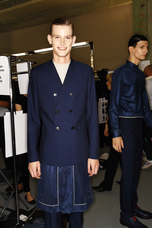 DIOR SS13 Men Fashion Show Paris Backstage