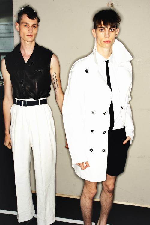 Lanvin SS13 MEN Fashion Show Paris Backstage