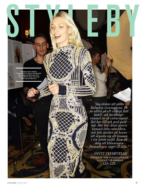 STYLEBY magazine story