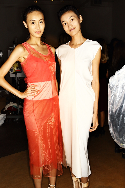 Reed Krakoff SS13 Fashion Show New York Backstage