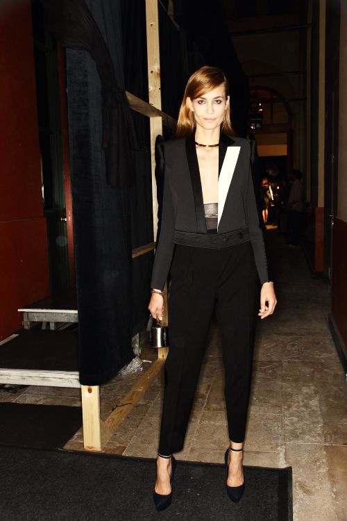Lanvin SS13 Fashion Show Paris Backstage