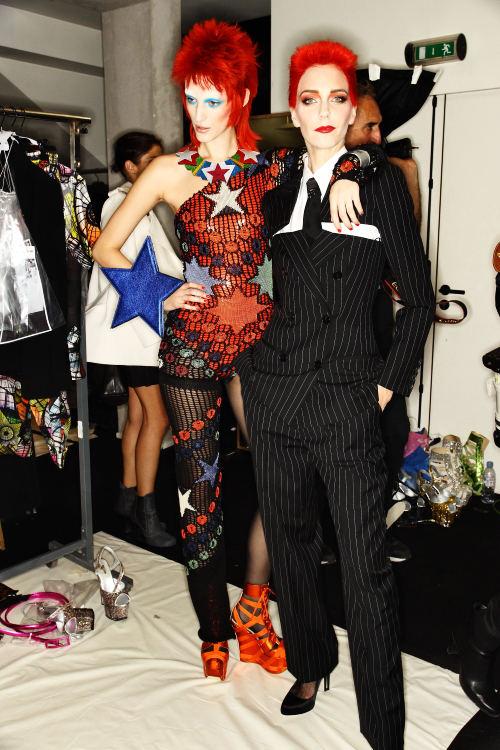 Jean Paul Gaultier SS13 Fashion SHOW Paris Backstage