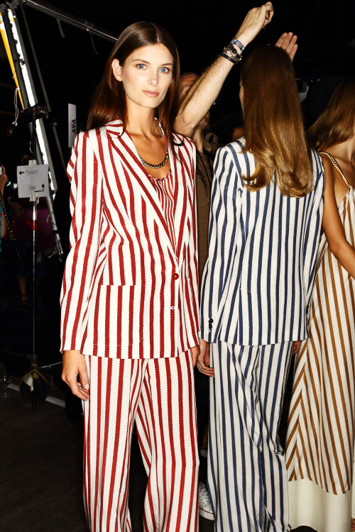 Tommy Hilfiger SS13 Fashion Show New York Backstage