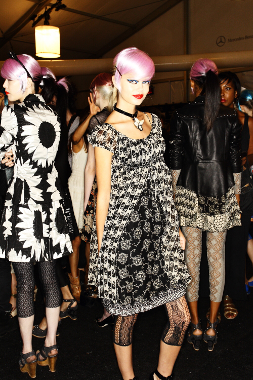 Anna Sui SS13 Fashion Show New York Backstage
