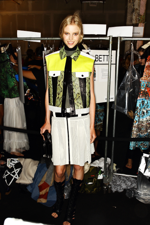 Proenza Schouler SS13 Fashion Show New York Backstage
