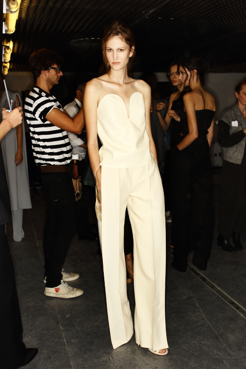 Maison Martin Margiela SS13 Fashion Show Paris Backstage