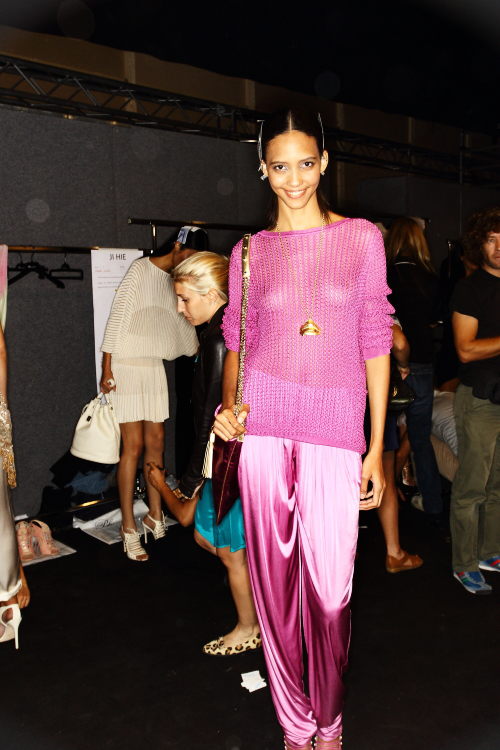 Blumarine SS13 Fashion Show Milan Backstage