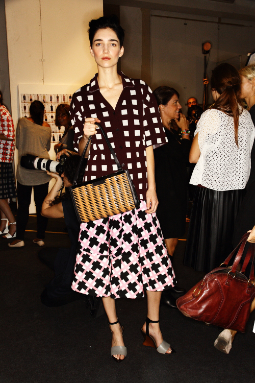 Marni SS13 Fashion Show Milan Backstage