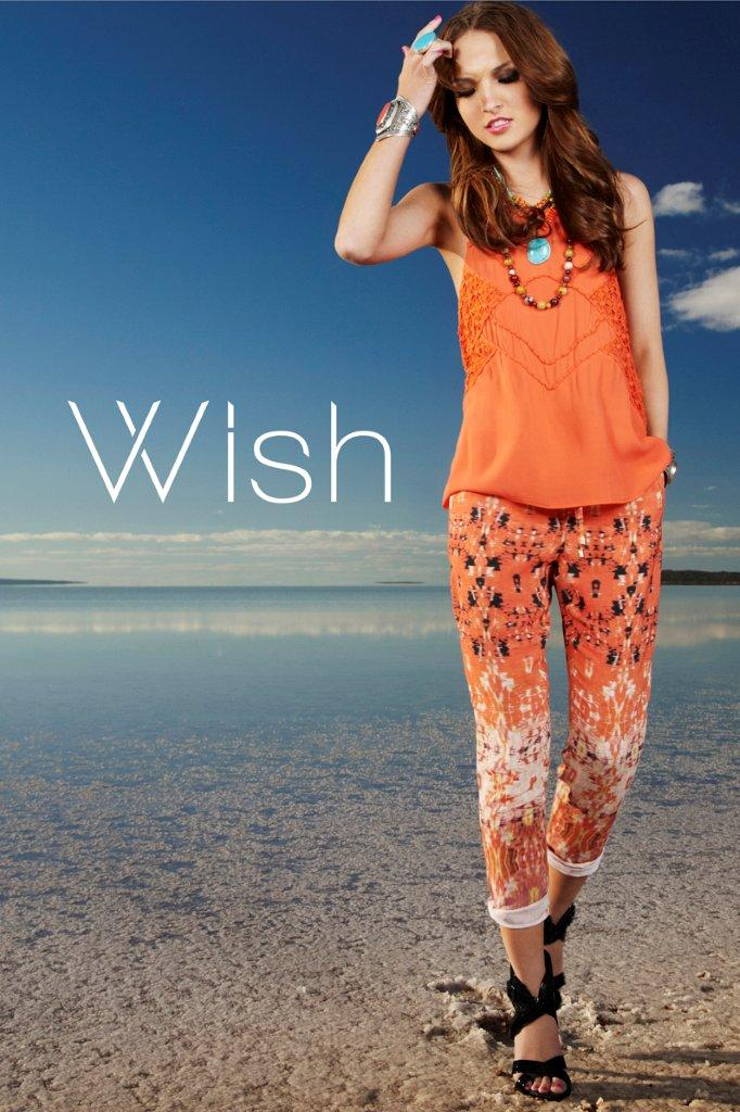 Wish Curio Tank Westward Pants