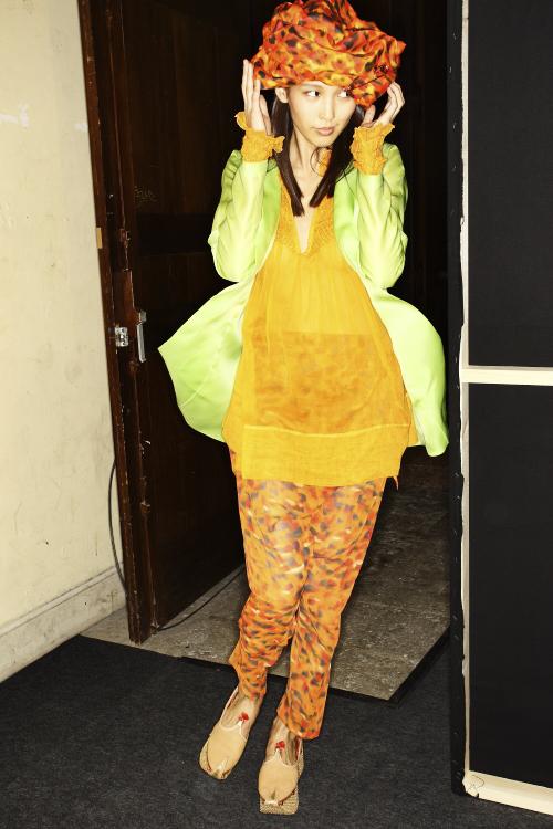 Junko Shimada SS13 Fashion Show Paris Backstage
