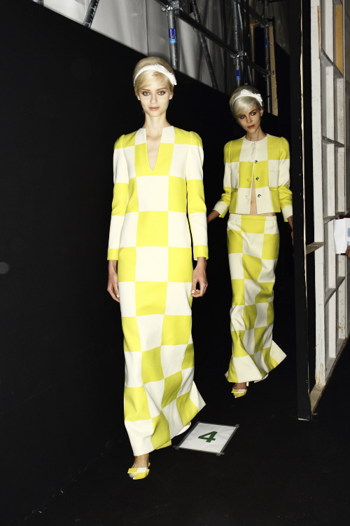 Louis Vuitton SS13 Paris Fashion Show Backstage