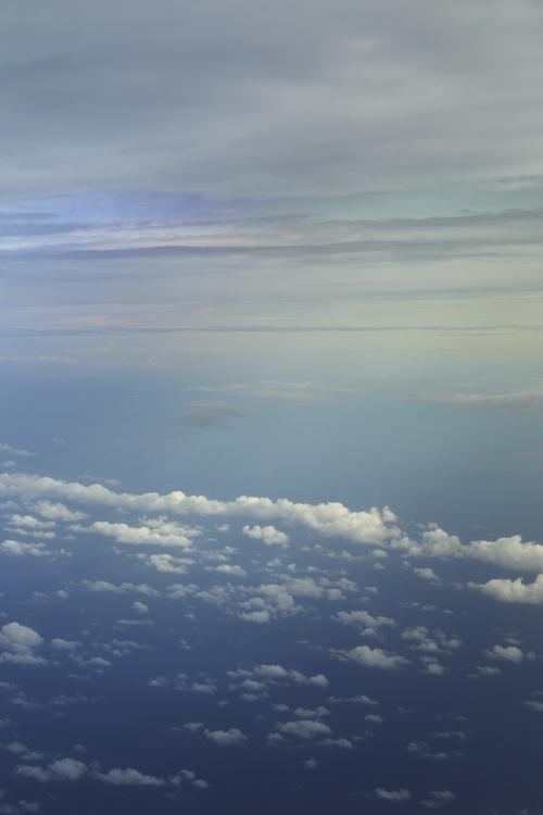 Flight back to Sydney from Nadi, Fiji