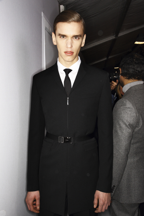 DIOR AW13/14 Men Fashion Show Paris Backstage