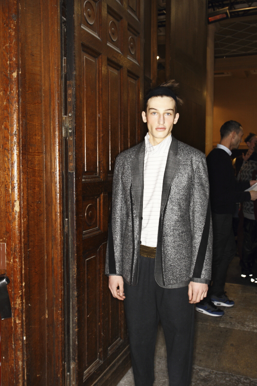 Damir Doma AW13/14 Men Fashion Show Paris Backstage
