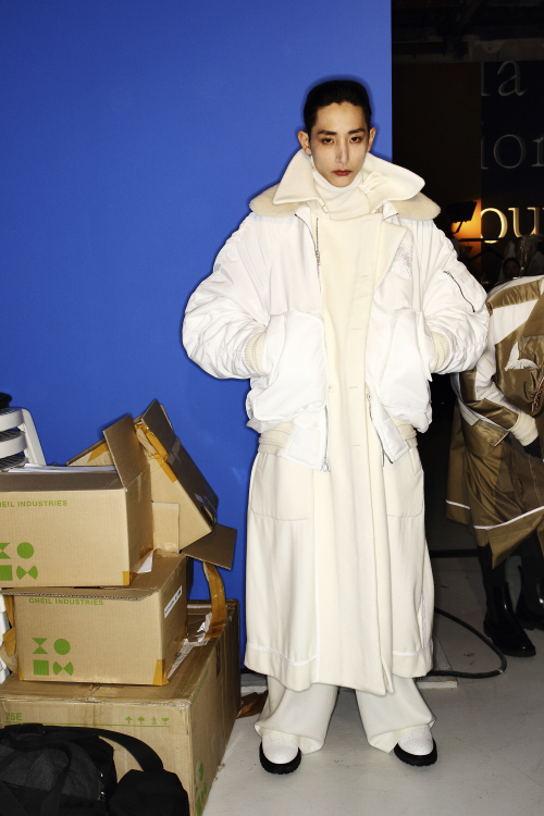 Juun J AW13/14 Men Fashion Show Paris Backstage