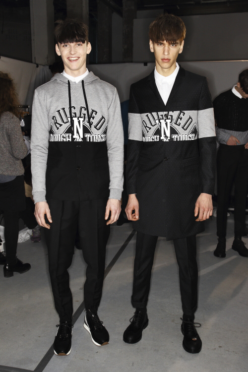 Kris Van Assche AW13/14 Men Fashion Show Paris Backstage