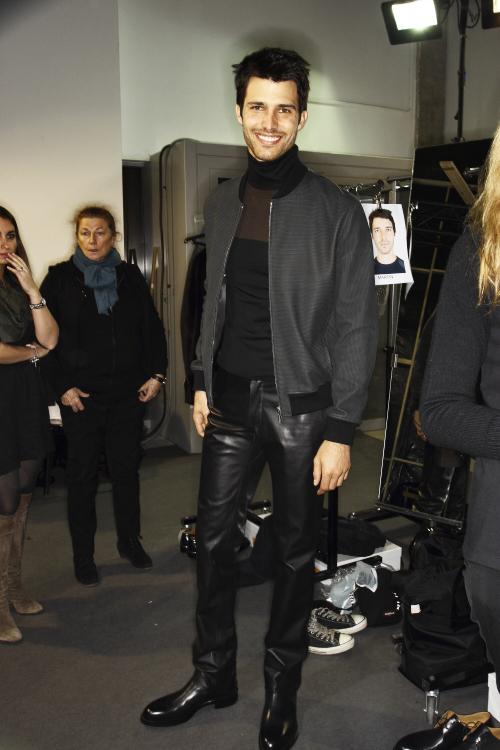 Hermes AW13/14 Men Fashion Show Paris Backstage