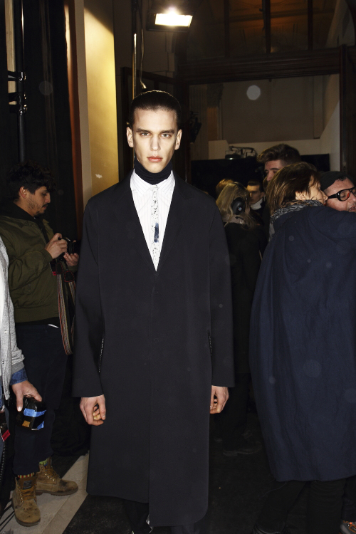 Lanvin AW13/14 Men Fashion Show Paris Backstage