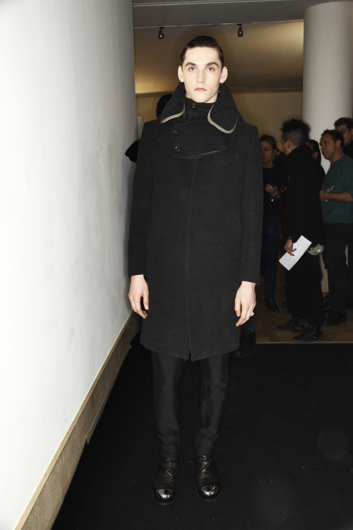 Mihara Yasuhiro AW13/14 Men Fashion Show Paris Backstage