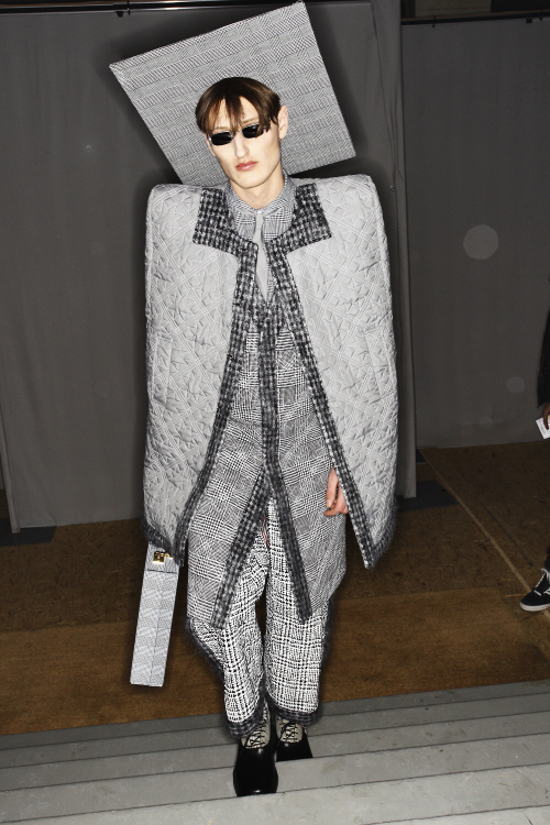 Thom Browne AW13/14 Men Fashion Show Paris Backstage