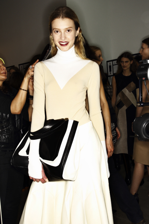 Derek Lam AW13/14 Fashion Show New York Backstage