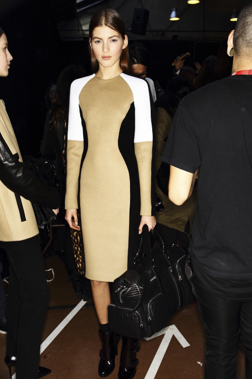 DKNY AW13/14 Fashion Show New York Backstage