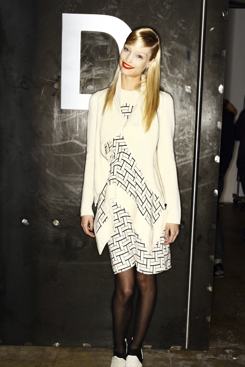 Ohne Titel AW13/14 Fashion Show New York Backstage