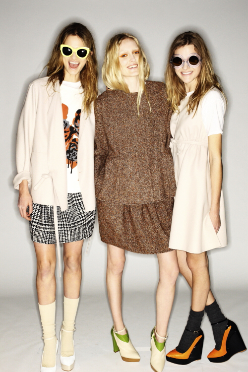 Karen Walker AW13/14 Fashion Show New York Backstage