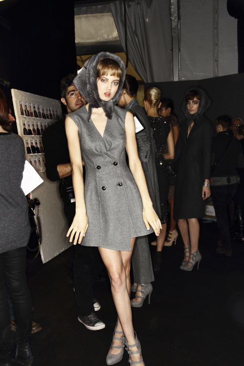 Ermanno Scervino AW13/14 Fashion Show Milan Backstage