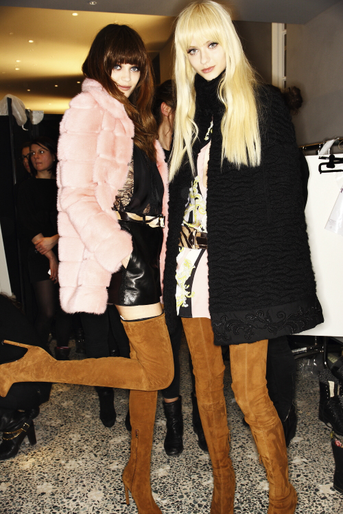 Emilio Pucci AW13/14 Fashion Show Milan Backstage