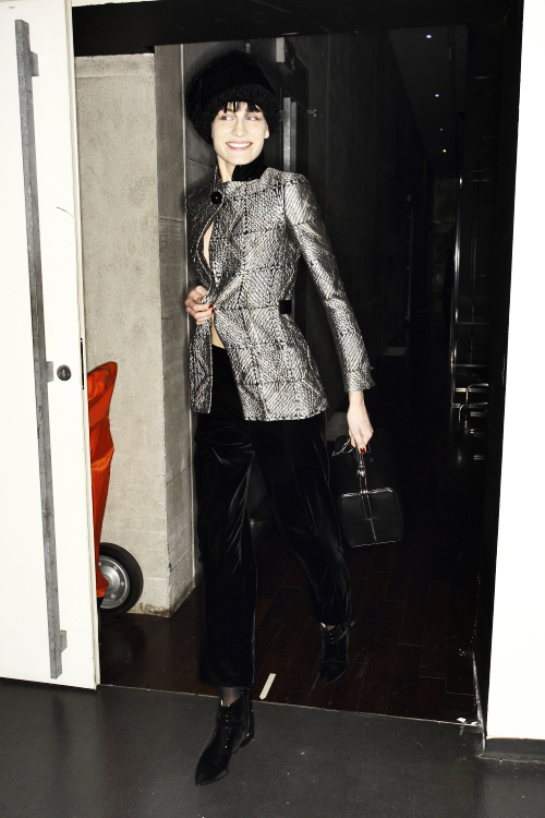 Giorgio Armani AW13/14 Fashion Show Milan Backstage