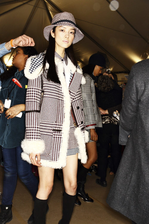 Tommy Hilfiger AW13/14 Fashion Show New York Backstage