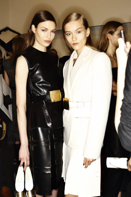 Calvin Klein Collection AW13/14 Fashion Show New York Backstage