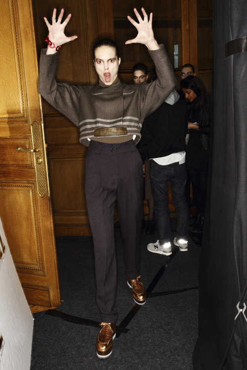 Damir Doma AW13/14 Fashion Show Paris Backstage