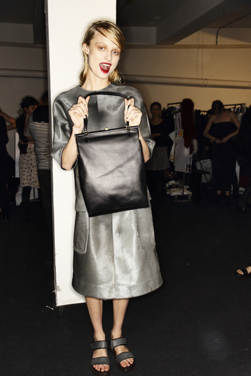 Marni AW13/14 Fashion Show Milan Backstage