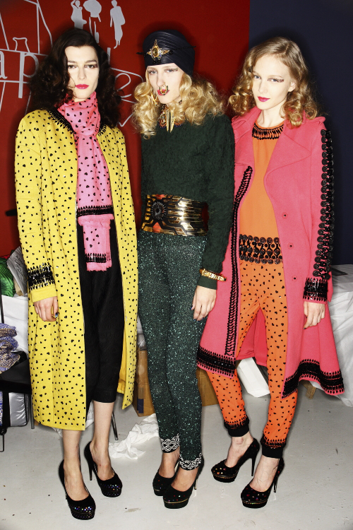 Manish Arora AW13/14 Fashion Show Paris Backstage