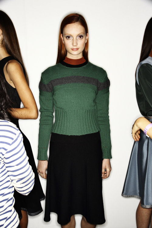Sophie Theallet AW13/14 Fashion Show New York Backstage