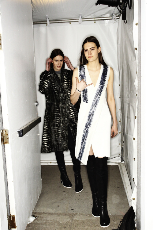 Reed Krakoff AW13/14 Fashion Show New York Backstage
