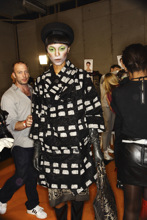 Vivienne Westwood AW13/14 Fashion Show Paris Backstage