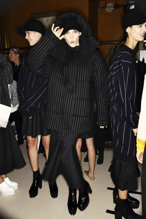Stella McCartney AW13/14 Fashion Show Paris Backstage