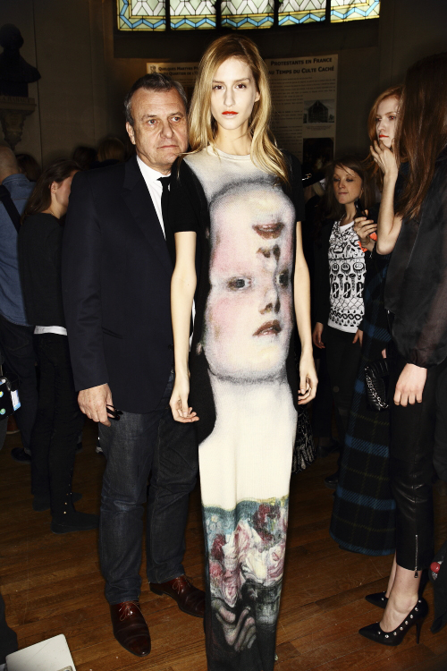 Jean Charles De Castelbajac AW13/14 Fashion Show Paris Backstage