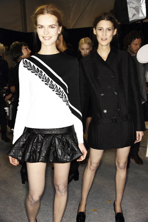 Viktor & Rolf AW13/14 Fashion Show Paris Backstage