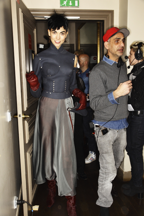 Jean Paul Gaultier AW13/14 Fashion Show Paris Backstage