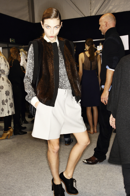 Chloe AW13/14 Fashion Show Paris Backstage