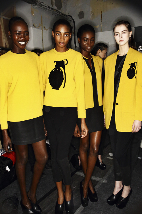 Hexa by Kuho AW13/14 Fashion Show Paris Backstage
