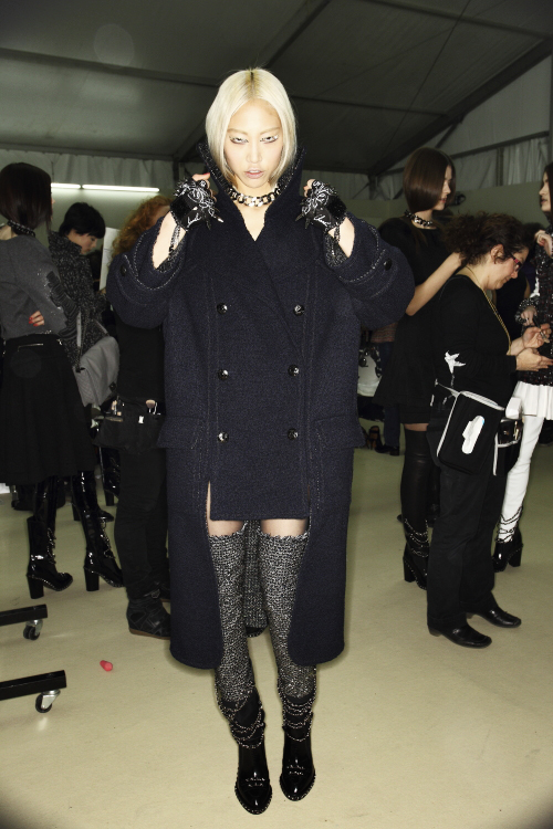 Chanel AW13/14 Fashion Show Paris Backstage