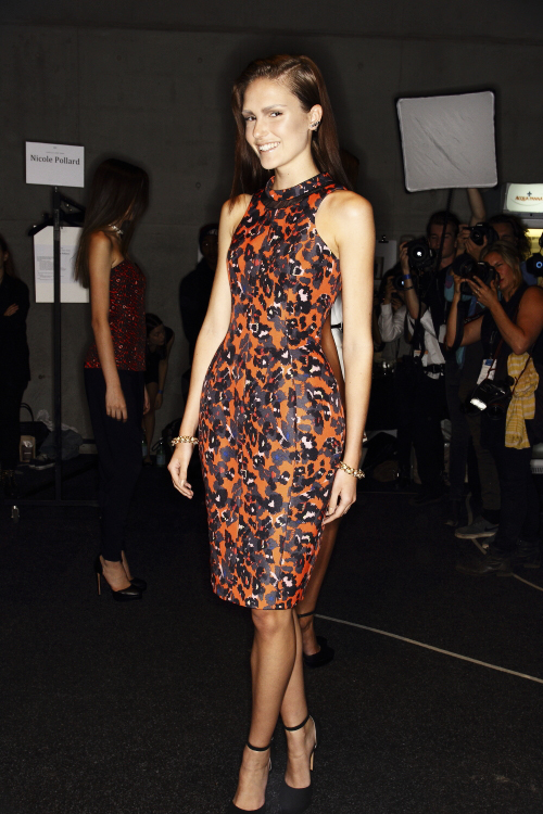Camilla & Marc SS13/14 Fashion Show Sydney Backstage