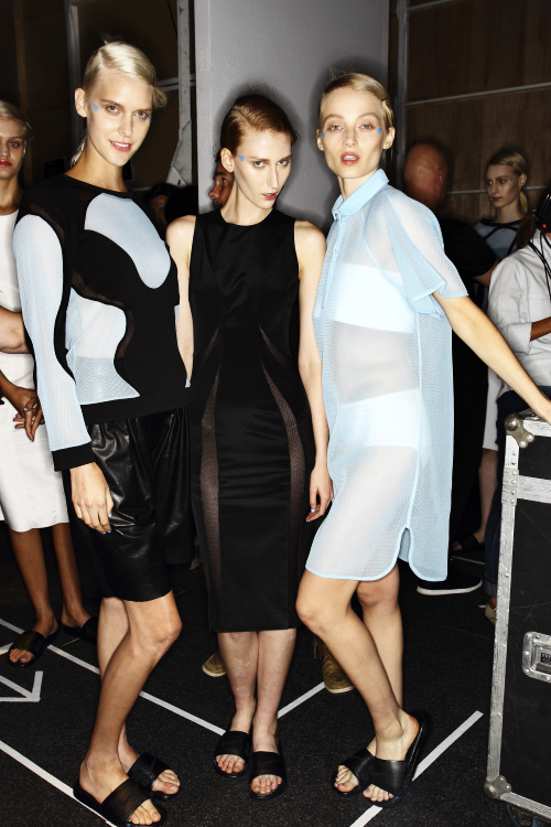 Michael Lo Sordo SS13/14 Fashion Show Sydney Backstage