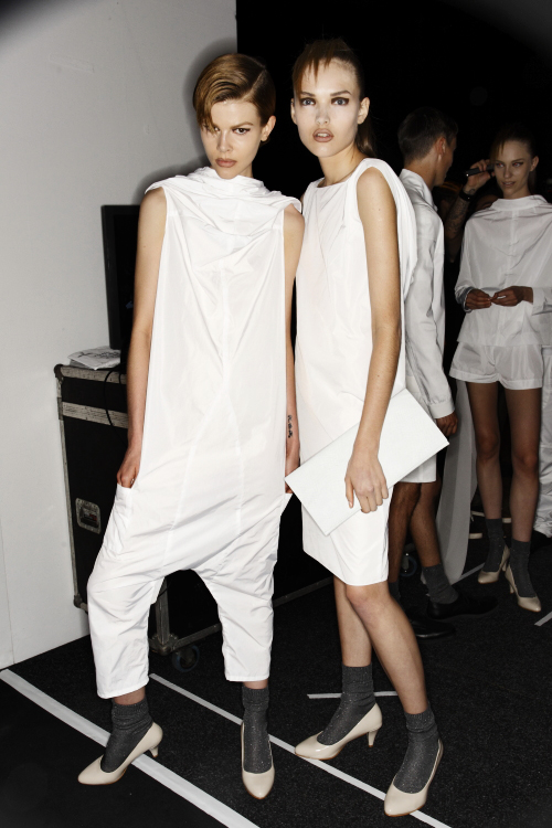 Zambesi SS13/14 Fashion Show Sydney Backstage
