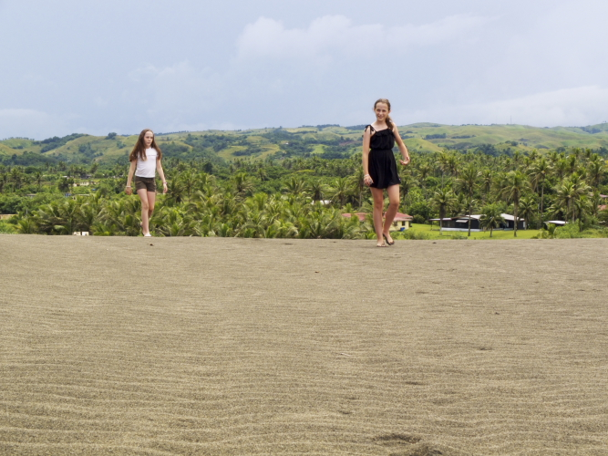 Last day in Fiji and we finally visit the Sigatoka Black Sand Dunes